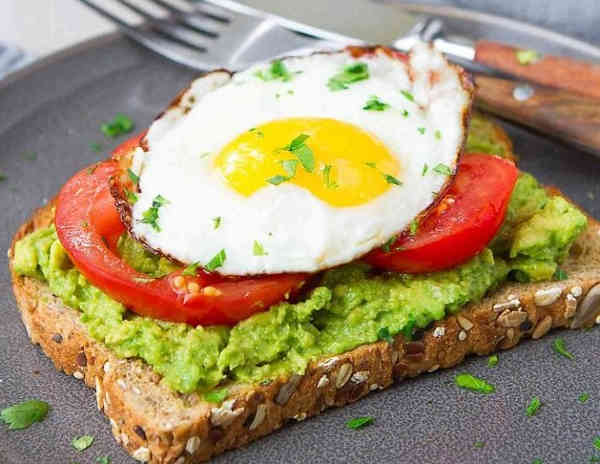avocado toast with egg and tomato are avocados good for you